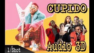 Sfera Ebbasta X Khea  X Duki X Quavo X Elletra Lamborginni - Cupido Remix AUDIO 3D