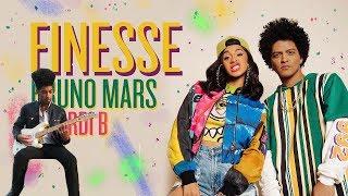 Bruno Mars - Finesse (Guitar Solo Cover)