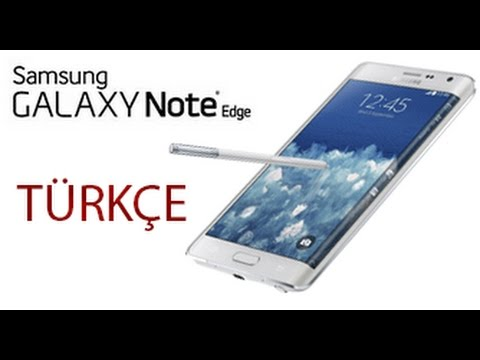 Samsung Galaxy Note Edge Kutu A��l�m� T�RK�E