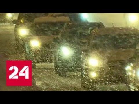 К утру понедельника Москва утонет в снегу - Россия 24