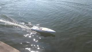 Kyosho Jet Stream 1000 RC Nitro model boat