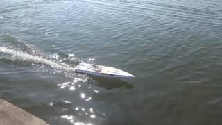 Kyosho Jet Stream 1000 RC Nitro model boat