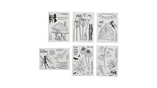 Crafter's Companion Clear Stamp Fairy Bundle 6pack