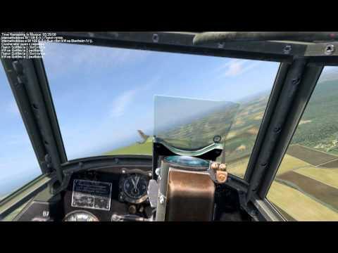 "IL2 Sturmovik Cliffs of Dover ""Видео урок №3 от MK.Mr.X-cамолёт BF-109E1"""