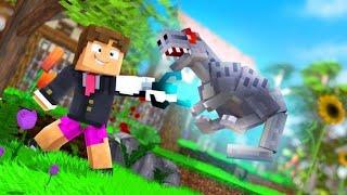 Minecraft: ARMA 100% SEGURA PARA DINOSSAUROS ! - PARQUE DOS DINOSSAUROS