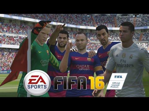 FIFA 16 - Probando la Demo - Barcelona Vs Real Madrid, el día de los Penalties