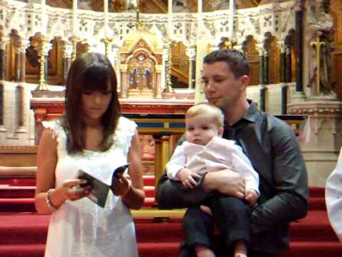 Jayden-James Thomas Allsopp's Christening 23.5.10 Part 2
