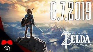 The Legend of Zelda: Breath of the Wild | 8.7.2019 | Agraelus | 1080p60 | Nintendo Switch | CZ