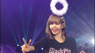 BLACKPINK IN SYDNEY (LISA - BEST MOMENTS) + M&G  Fancam