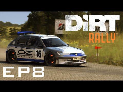 DiRT Rally Gameplay: Tarmac Terrors (Germany Update)  - Episode 8