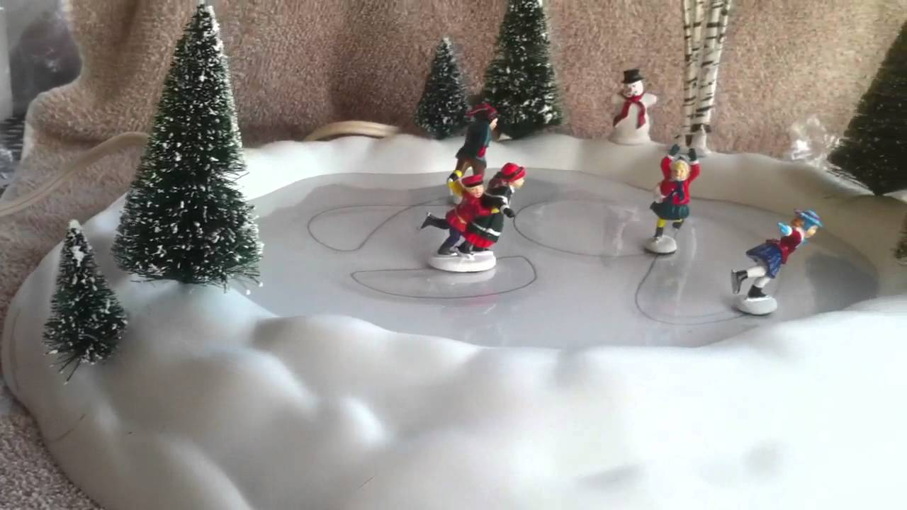 New Animated Skating Pond - 801130 - Village Accessories ...