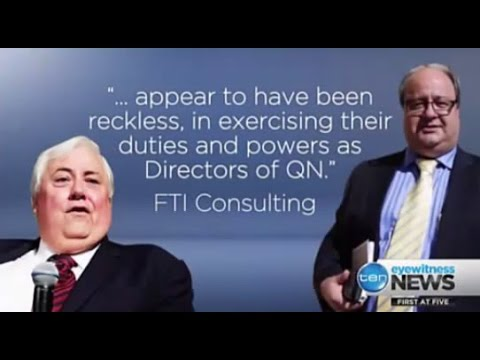 Clive Palmer & Clive Mensink labeled reckless over Qld Nickel collapse