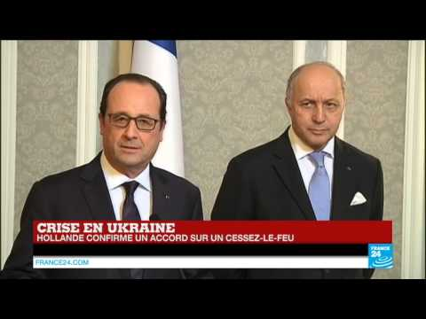 UKRAINE - François Hollande :