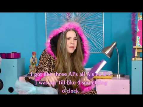 Haschak Sistrers-Slumber Party (Lyrics on video)