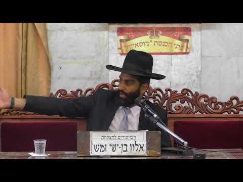 הרב  רפאל אלבז הלכות והנהגות בראש השנה