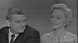 What's My Line? - Peter Lind Hayes & Mary Healy; Tony Randall [panel] (Aug 13, 1961)