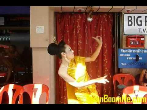 Ladyboy Dancing For Loy Krathong In Soi 6, Pattaya, Thailand, 2010 video