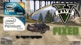 GTA V Lag Fix l Car Shuttering l Specially For Dual Core, Low End PC ✪
