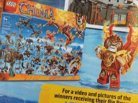 NEW Lego Chima Big Box Set Winners!