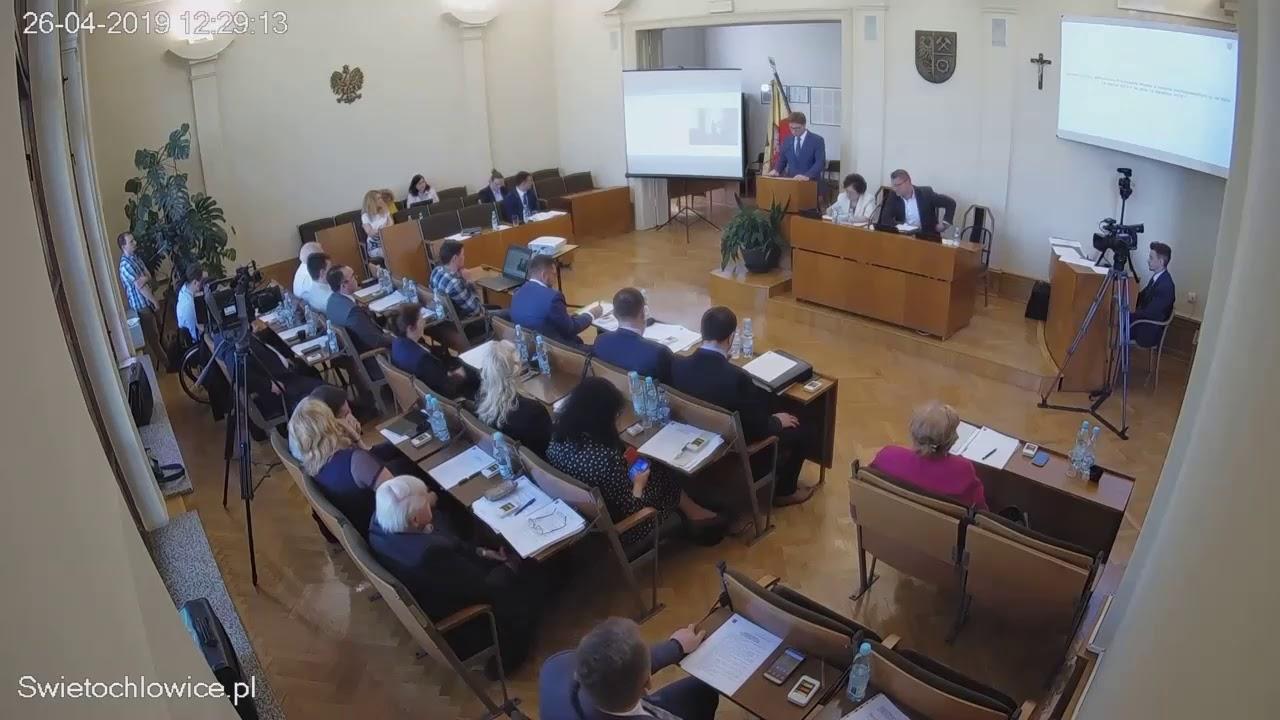XI sesja Rady Miejskiej 26.04.2019