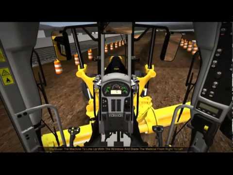Simulador da Motoniveladora 140M CAT (PATROL 140M).