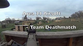 Area 34 Airsoft Gameplay - Team Deathmatch