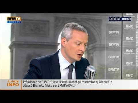 Bourdin Direct : Bruno Le Maire - 1106