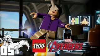 """THE AVENGERS HELICARRIER!!!"" LEGO Marvel Avengers Part 5 - 1080p HD PC Gameplay Walkthrough"