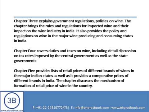 Bharat Book Presents : Indian Wine Market Forecast to 2018