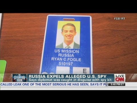 Russia detains alleged US spy
