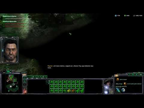 StarCraft 2 Misión 10 Haven a salvo - Wings of liberty - Brutal