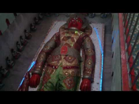 Suta hanuman- rajkot--22 ft long -biggest