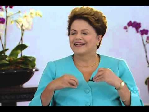 Dilma Rousseff fala com exclusividade ao SBT