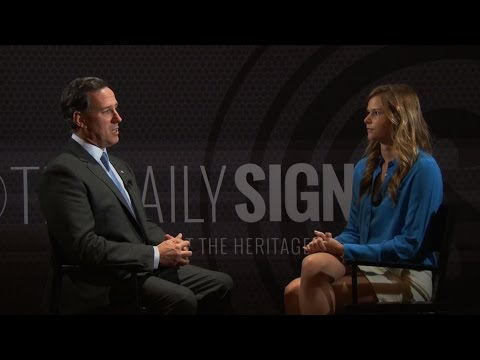 Rick Santorum on Religious Liberty, His 'Very Clear' Plans for 2016