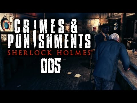 SHERLOCK HOLMES: CRIMES AND PUNISHMENTS #005 - Wer ist der Mörder?