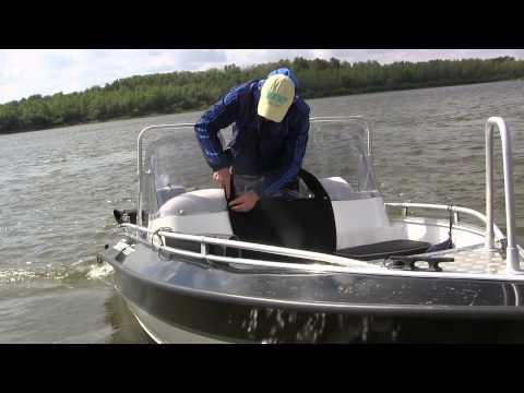 тест драйв лодок для рыбалки видео
