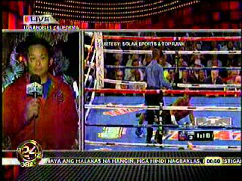 MANNY PACQUIAO (MOSLEY Post-Fight) Chino Trinidad's Analysis on Mosley Fight - May 9, 2011