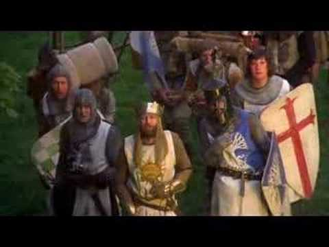 Monty Python- The Quest For The Holy Grail video