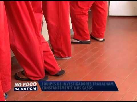 Cinco suspeitos de homicídios em Uberlândia são apresentados pela PC - parte 1