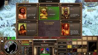 Age of Empires 3 Aztec Gameplay