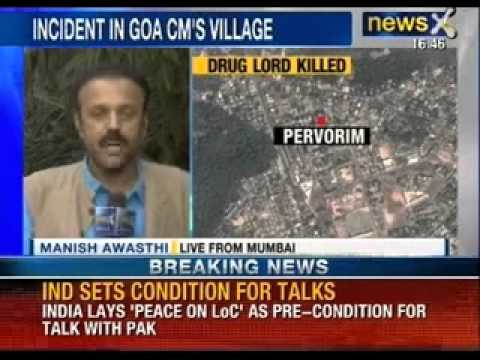Nigerian Killed In Gang War In Goa - News X video