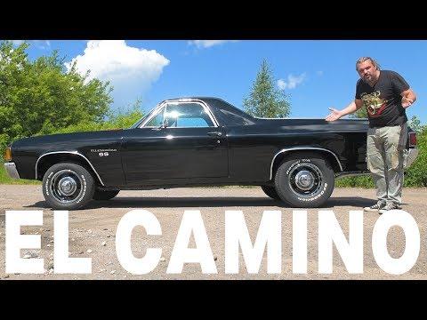 Грузовик или масл-кар? Chevrolet El Camino #ЧУДОТЕХНИКИ №43