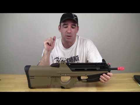Airsoft Review G&G FN F2000 AEG Licensed by Cybergun