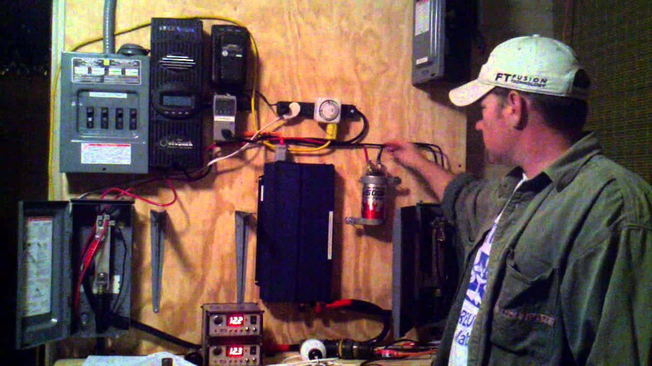farad capacitor wiring solar power setup testing  mppt outback flex max 80  500k  solar power setup testing  mppt outback flex max 80  500k