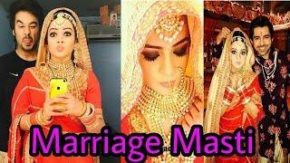 Finally! Thapki and Bihaan Poses together offscreen |Thapki Pyar Ki marriage masti offscreen