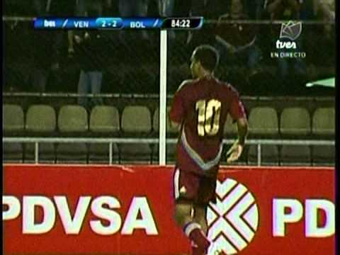 Venezuela 2-2 Bolivia Gol de Yohandry Orozco