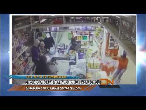 Otro violento asalto con armas en Salto