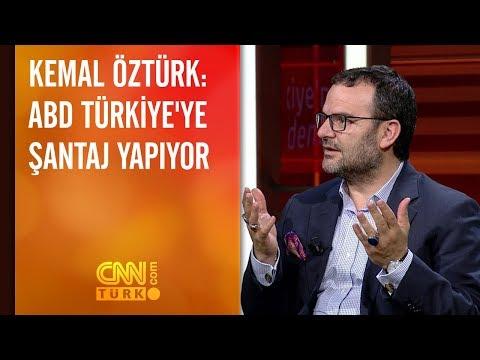 Kemal Öztürk: ABD Türkiye'ye şantaj yapıyor