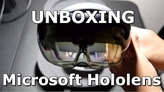 UNBOXING THE MICROSOFT HOLOLENS AND SETUP