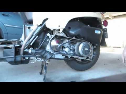 2013 Honda Metropolitan CNH50 - variator upgrade